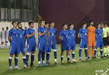 İyirmi bir yaşadək futbolçulardan ibarət Azərbaycan millisi