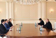 Prezident İlham Əliyev Türkiyənin Baş Ombudsmanını qəbul edib