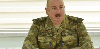 Ali Baş Komandan İlham Əliyev