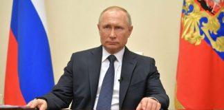 Rusiya prezidenti Vladimir Putin