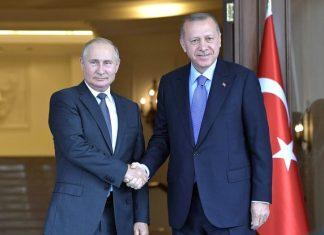 Vladimir Putin və Rəcəb Tayyib Ərdoğan