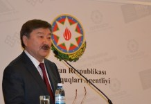 TÜRKSOY-un Baş katibi Düsen Kaseinov