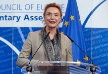 Avropa Şurasının (AŞ) Baş katibi Mariya Peyçinoviç Buriç