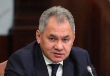 Rusiya Federasiyasının müdafiə naziri Sergey Şoyqu