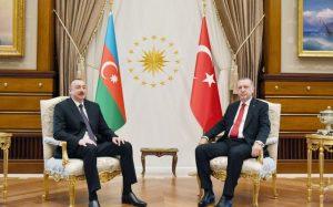 Azərbaycan Prezidenti İlham Əliyev və Türkiyə Prezidenti Rəcəb Tayyib Ərdoğan