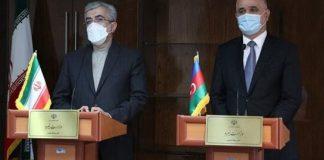 Azərbaycan Respublikasının Baş nazirinin müavini Şahin Mustafayev və İran energetika naziri Rza Ərdakanian