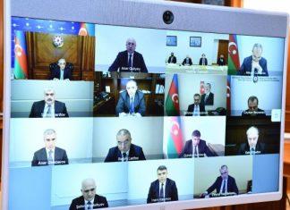 Dövlət Komissiyasının əhaliyə dəymiş ziyanın qiymətləndirilməsi üzrə iclası