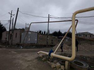 Abşeronda traktor qaz xəttini zədələdi