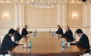 Prezident İlham Əliyev İranın xarici işlər nazirini qəbul edib