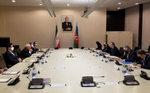 Azərbaycan və İran XİN başçılarının görüşü olub