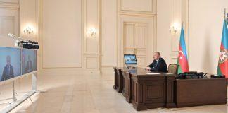 Prezident İlham Əliyev Anar Kərimovu mədəniyyət naziri təyin olunması ilə əlaqədar videoformatda qəbul edib