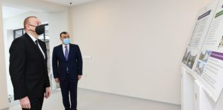 Prezident İlham Əliyev Şağan Reabilitasiya Pansionatının açılışında iştirak edib