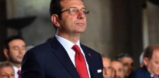 İstanbul Böyük Şəhər Bələdiyəsinin sədri Əkrəm İmamoğlu