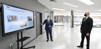 Prezident İlham Əliyev Bakıda 4 saylı DOST mərkəzinin açılışında iştirak edib