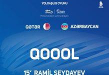 Azərbaycan-Qətər oyunu millimizin məğlubiyyəti ilə başa çatıb