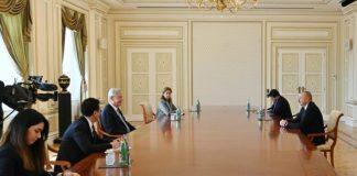 Azərbaycan Respublikasının Prezidenti İlham Əliyev aprelin 9-da BMT Baş Assambleyasının 75-ci sessiyasının prezidenti Volkan Bozkırı qəbul edib