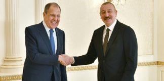 Azərbaycan Prezidenti İlham Əliyev Rusiyanın xarici işlər nazirinin başçılıq etdiyi nümayəndə heyətini qəbul edib