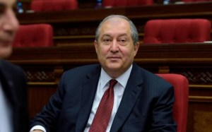 Ermənistan prezidenti Armen Sarkisyan
