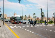 Yasamalda rayonunda yeni işıqforlar quraşdırılıb