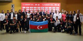 Karate və parakarate üzrə Avropa çempionatlarında Azərbaycan komandası 7 medal qazanıb