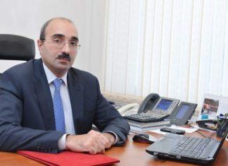 İqtisadiyyat Nazirliyi yanında Əmlak Məsələləri Dövlət Xidmətinin rəisi Mətin Eynullayev