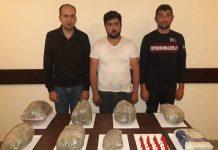 İrandan Azərbaycana narkotik keçirmək istəyən 5 nəfər saxlanılıb