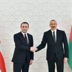 Prezident İlham Əliyev: Bizim birgə layihələrimiz regionun siyasi, iqtisadi, nəqliyyat və energetika xəritəsini dəyişib