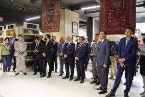 """Nur-Sultanda """"Azərbaycan Ticarət Evi""""nin açılışı olub"""