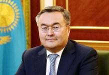 Qazaxıstanın xarici işlər naziri Muxtar Tleuberdı