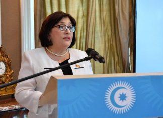 Milli Məclisin Sədri Sahibə Qafarova
