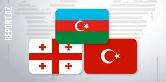 Türkiyə, Azərbaycan və Gürcüstan