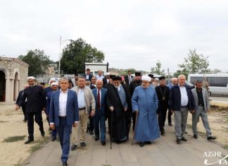 Azərbaycandakı dini konfessiyaların rəhbərləri Şuşada