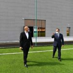 Goranboy Olimpiya İdman Kompleksinin açılışı olub