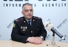 Daxili İşlər Nazirliyi Mətbuat xidmətinin şöbə rəisi, polis mayoru Elşad Hacıyev