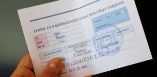 COVID-19 pasportu