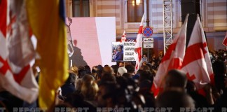 Tbilisidə Saakaşviliyə azadlıq tələbi ilə keçirilən mitinq başa çatıb