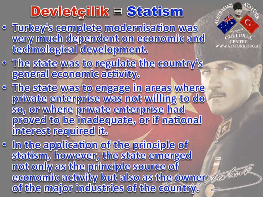 AAKM - Ataturk Principles and Reforms - 7 Statism