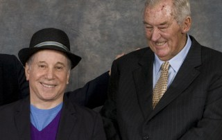 Paul Simon & Richard Leakey together in 2008.