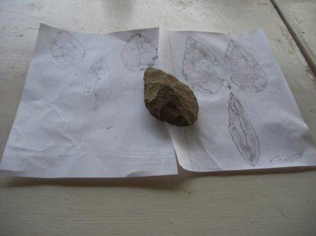 Acheulean Handaxe: A Triptych