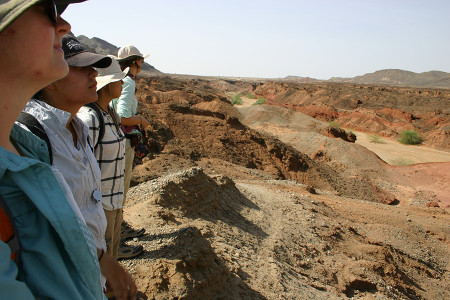 First look at the Lothagam landscape with a rock record of the Miocene - Holocene.