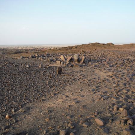 Lothagam Pillar Site (GeJi9), ~ 60 km away from Namuratunga.