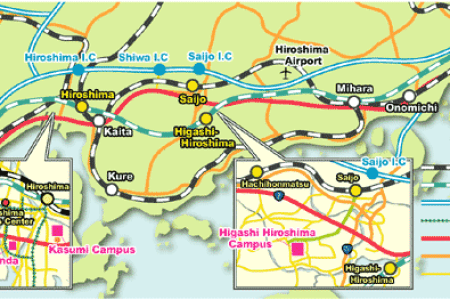 hiroshima tourist map » Full HD MAPS Locations - Another World ...