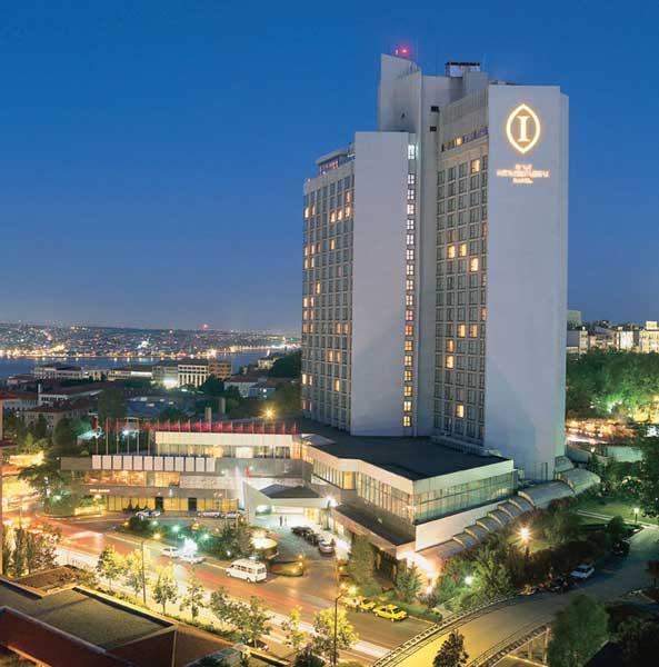 فندق انتركونتيننتال اسطنبول في منطقة تقسيم