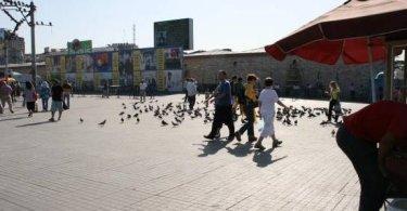 تقرير التجول بين الفندق و الاسواق في اسطنبول