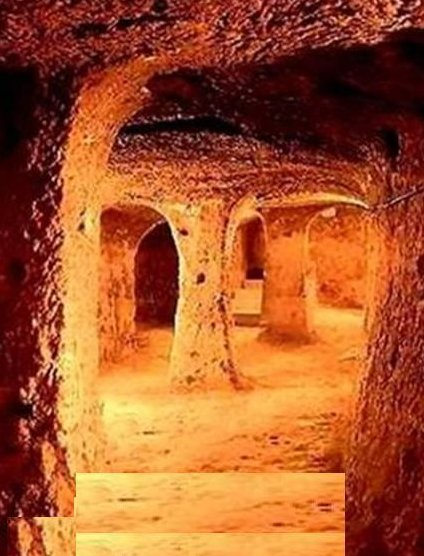 مدينة الجن تحت الأرض في تركيا