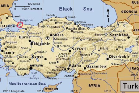 map of istanbul turkey and surrounding countries » 4K Pictures | 4K ...