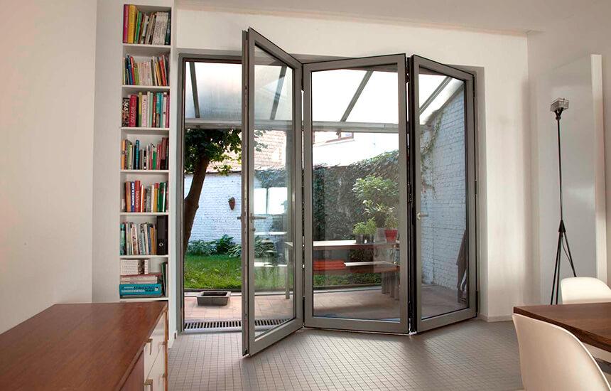 aluminium bifold doors in northern