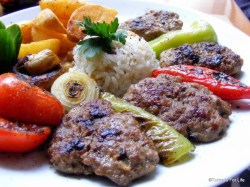 Turkish food kofte