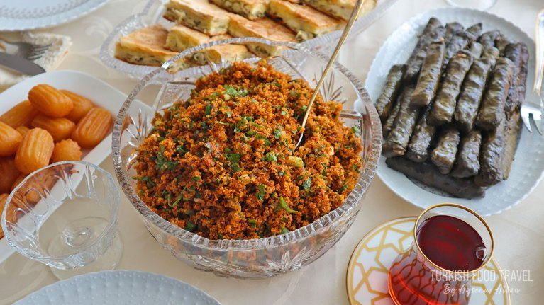 20 minutes Turkish Bulgur Salad Kisir