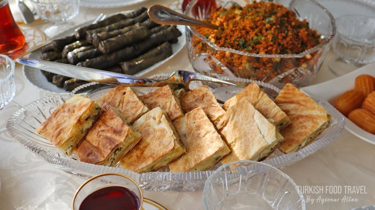 Turkish Borek With White Cheese